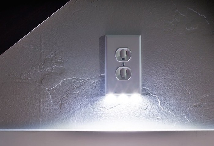 Perfect for kids guests and seniors b r nelson designs llc snap power receptacle w night light mozeypictures Gallery